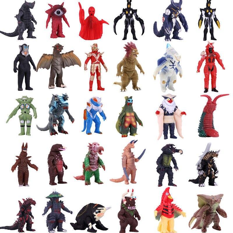 Альтман мягкий клей Ultraman монстр игрушка король гогира экшн-фигурка Коллекционная модель Детская кукла движущаяся шарнирная подвижная
