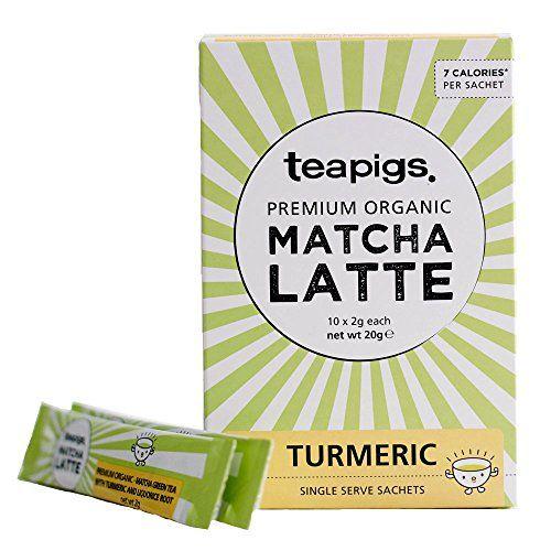 Teapigs Matcha Turmeric Latte Sachets