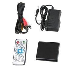 цена на Portable HD 1080P Media Player MKV/H.264/RMVB Full HD + HOST USB Secure Digital Memory Card Card Reader