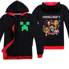 coat Spring and autumn Kids Cartoon Minecraft apex legends game cotton boys and girls long sleeve t-shirt hoodie clothing 6-14Y 2018 minecraft pants long sleeve suit boy clothing jacket spring and autumn hooded sweater suit children s t shirt 6 14y