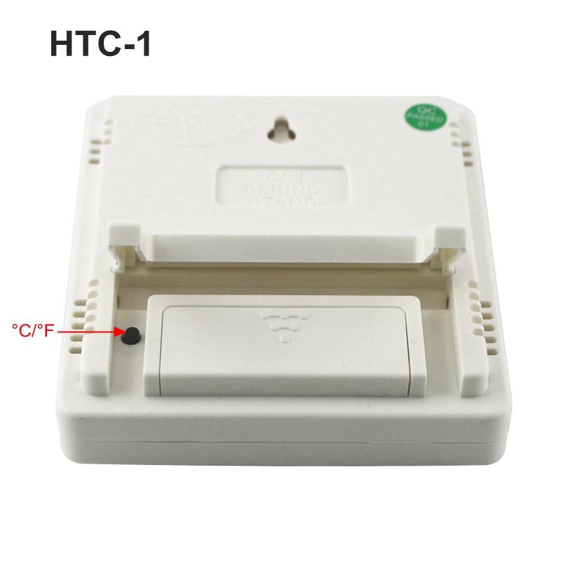 Stacja pogodowa HTC-1 / HTC-8 Wewnętrzny cyfrowy termometr Higrometr - Przyrządy pomiarowe - Zdjęcie 4