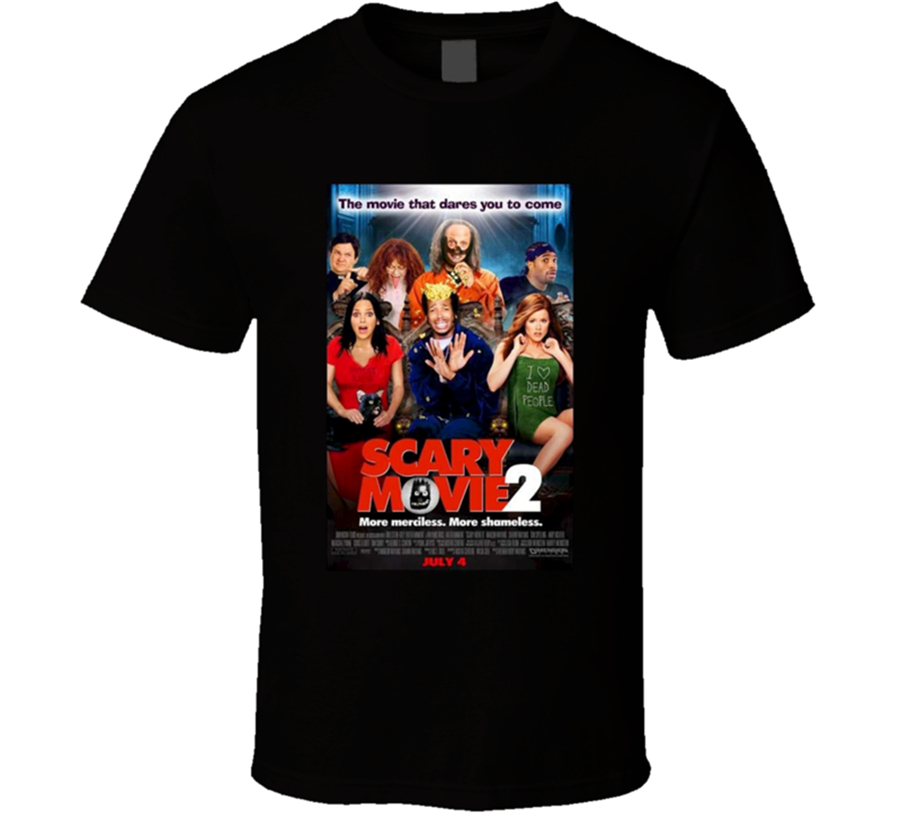 New Scary Movie 2 Comedy Men's Tops Tee T Shirt Clothing size S-2XL T-Shirt Loose Size ajax image