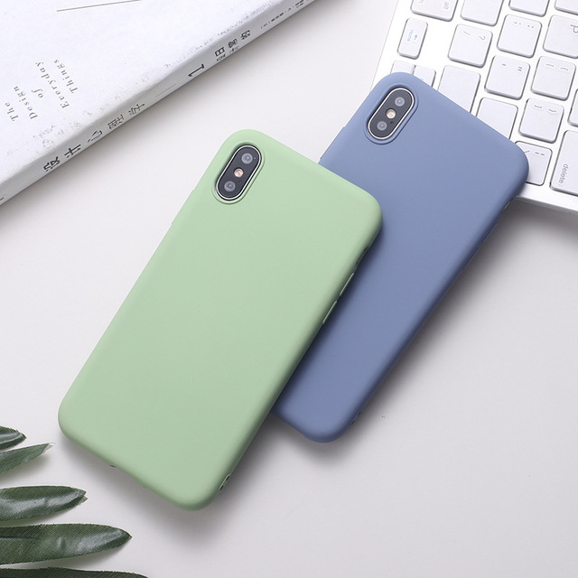 Silicone Cover Case iPhone Xs 1
