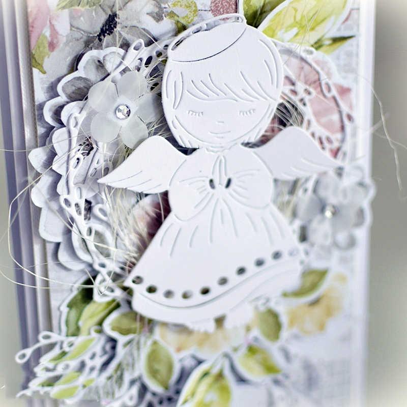 Ch 葉リング金属切削ダイス 3D diy スクラップブッキングカーボンシャープクラフトは写真招待状の装飾