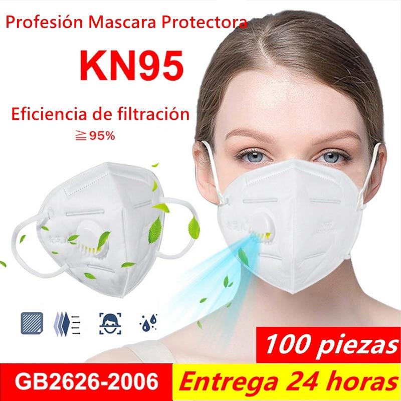 Hot Sale KN95 Mask Prevent Corona Safety Protective Mask Anti Dust Anti FFP2 FFP3 Dust Gas Mask Mascaras Entrega 24 Horas