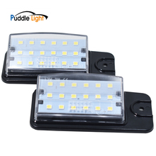 цена на 2Pcs LED Number Car License Plate Light Lamp For Infiniti EX25 EX35 EX37 QZ50 FX35 FX37 FX50 QX70Nissan Altima Pathfinder Murano