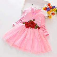 Kids Baby Tutu Dresses Flower Clothes 2-6Y