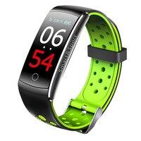 Q8 Color Screen Smart Bracelet Heart Rate Blood Pressure Health Monitoring Waterproof Smart Athletic Bracelet Manufacturers Dire