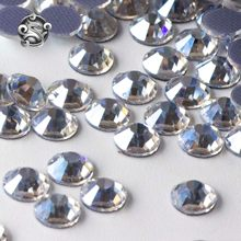 Classic level hotfix dżetów żelazne z kryształami na flatback glass strass aplikacje do odzieży koraliki do rzemiosła i dekoracji luzem