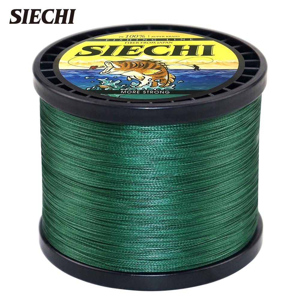 SIECHI Braided Fishing Line Multifilament 300M 500M 1000M 4 Strands Braided Wire Fishing Accessories Carp Fishing Tackle|Fishing Lines| - AliExpress