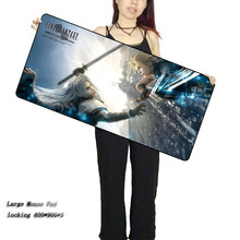LaumansFinal Fantasy Mouse pad gamer 900x400X3mm Notbook Mouse Mat Large gaming mousepad large Lock Edge pad mouse PC desk pad fallout mouse pad gamer 900x400mm notbook mouse mat large gaming mousepad large best seller pad mouse pc desk padmouse