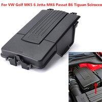 Tampa de bateria nova  adequada para vw golf mk5 6 jetta mk6 passat b6 tiguan scirocco plástico 1k0 915 443 a