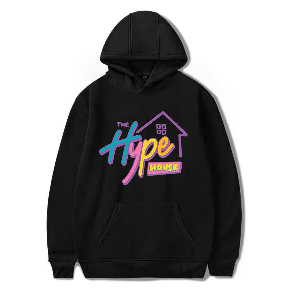 2020 De Hype Huis Sweatshirt Vrouwen Kleding Heren Hoodie Streetwear Harajuku Top Damskie Mujer Capucha Hip Hoody Hop Vetements