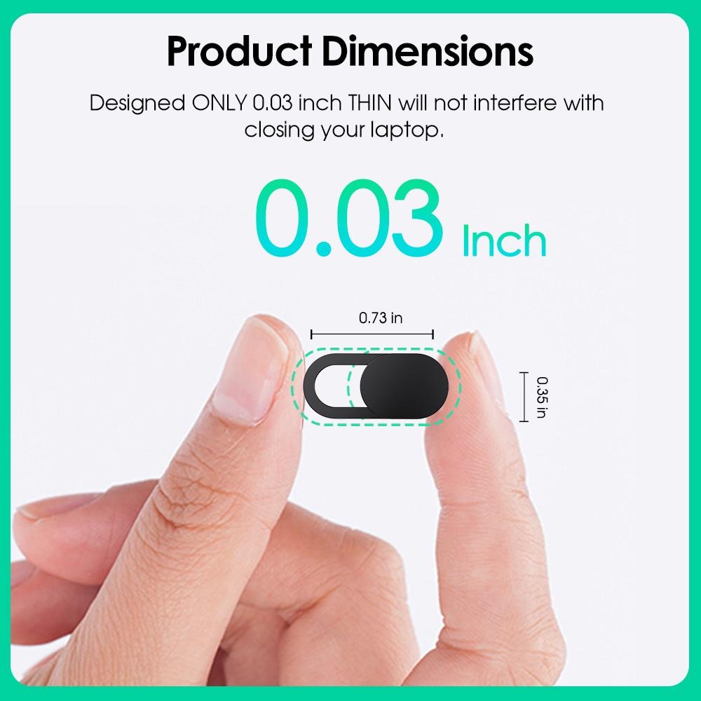 Универсальный пластиковый чехол-слайдер для веб-камеры