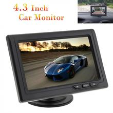 4.3 Inch 480 x 272 Color TFT LCD Screen 2-Channel Video Input Car Rear View Monitors Support Multi-role Display New