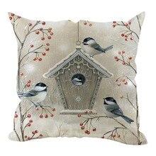 Funda de almohada 2020 nuevo sofá decorativo de Navidad decoración del hogar funda de cojín Housse de cojín almohadones ussenhoes