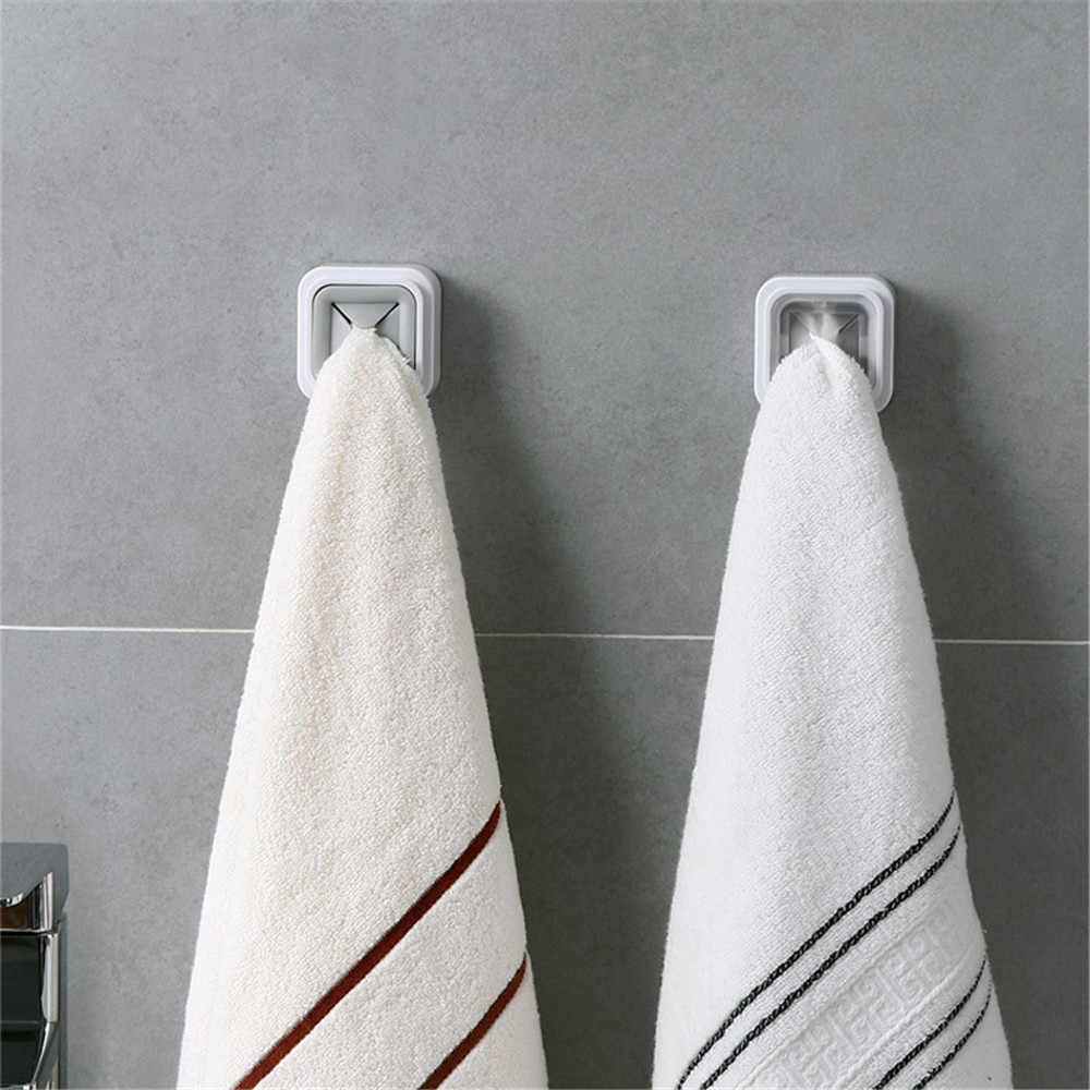 1PCS ชั้นวางผ้าคลิปผู้ถือ Rack ห้องน้ำแขวนผ้าเช็ดตัวผ้าเช็ดตัวผู้ถือเก็บห้องครัวตกแต่งผนังหน้าต่างเครื่องมือ