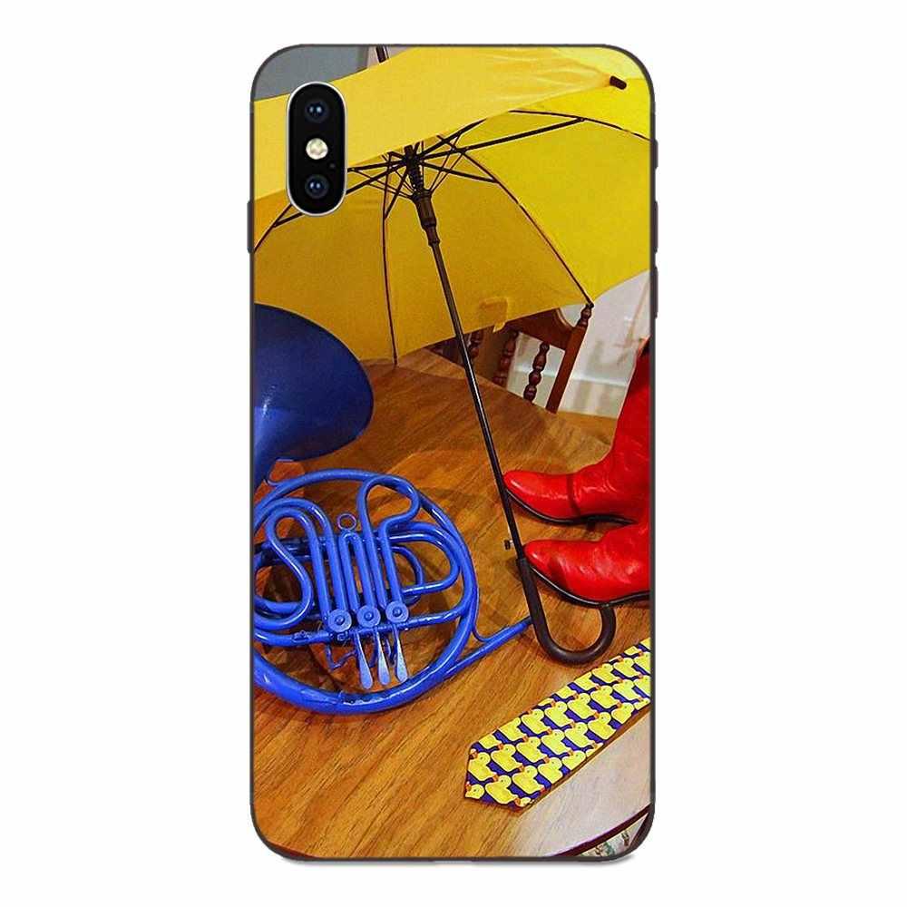 Molle di TPU di Nuovo Modo di Disegno Come HO Incontrato Tua Madre Ombrello Giallo Per Apple iPhone 4 4S 5 5S SE 6 6S 7 8 Più di X XS Max XR