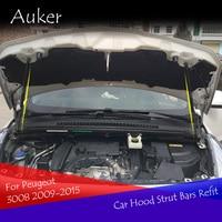 Dla Peugeot 3008 2009 2015 stylizacja samochodu zamontuj klapa maski amortyzatory gazowe w Rozpórki od Samochody i motocykle na