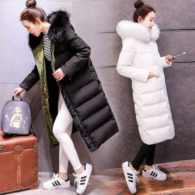 Down Winter Autumn Jacket Women Parka New Natural Raccoon Fur Feather Jacket Female Overcoat High Quality LX1143