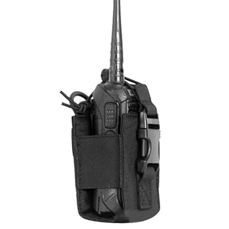 Outdoor Package Pouch Tactical Sports Pendant Military Molle Nylon Radio Walkie Talkie Holder Bag Magazine Mag Pouch Pocket LX9A