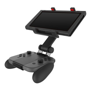 Image 1 - Nintend Switch Controller Handle Clip Clamp Mount Holder Free Rotation Joy con Switch Pro Gamepad Bracket For Switch Accessories
