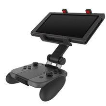 Suporte para controle nintendo switch, suporte para controle de videogame com rotação gratuita