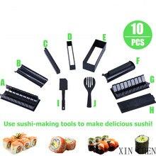 Sushi-Maker Rice-Mold Japanese Mould-Making Multifunctional High-Quality 10pcs/Set