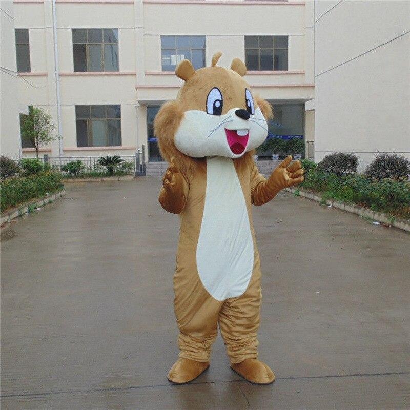 Écureuil mascotte Costume costumes Cosplay partie jeu tenues adultes Halloween robe usine en gros + affranchissement gratuit