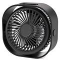 Горячая продажа маленький портативный Настольный вентилятор  мини настольный вентилятор с Usb перезаряжаемым  3 скорости тихий Персональный...
