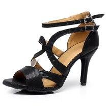 Из искусственной кожи pu для девочек; Бальные Туфли латинских