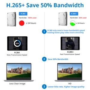 Image 5 - DEFEWAY HD 5MP POE NVR 키트 오디오 CCTV 시스템 H.265 + 야외 야간 투시경 비디오 감시 세트와 4CH/8CH 2MP POE IP 카메라