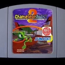 64 Bit Games ** Chameleon Twist 2 ( English PAL Version!! )