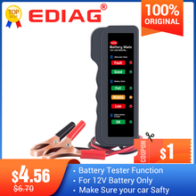 Car Battery Tester Digital Alternator Tester Ediag BM310 for Auto Car Motorcycle Display Car Vehicle BM320 Battery Testing Tool