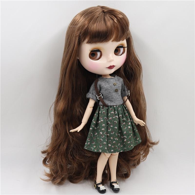 Kimber – Premium Custom Blythe Doll with Cute Face 1
