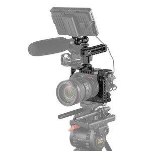 Image 5 - SmallRig a7r3 kamera kafesi kiti sony a7m3 için Sony A7R III kamera/A7 III kafes Rig W/üst kolu kavrama kamera Ball Head 2103