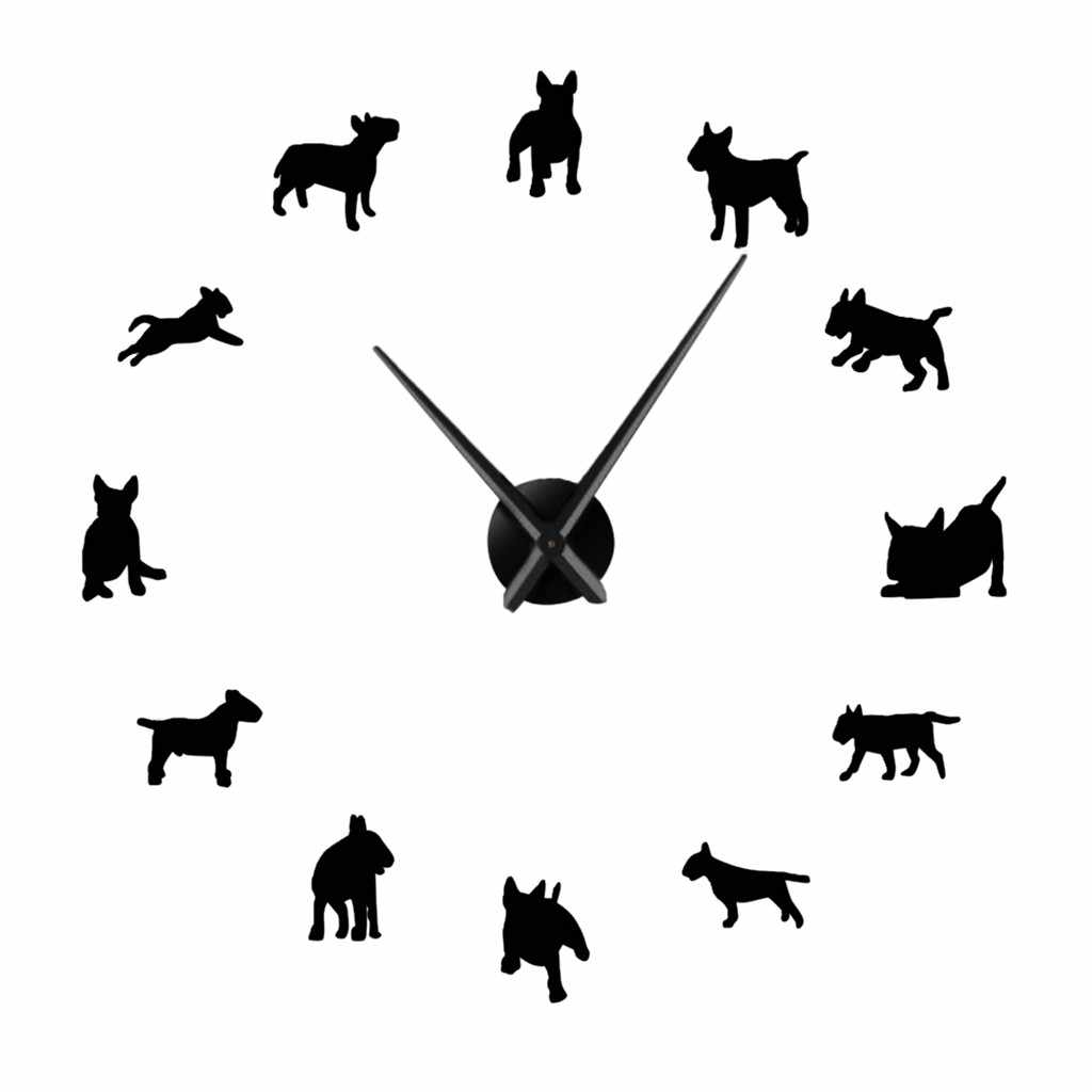 Dachshund Dog Puppy Lovely Round Wall Clock Home Office Room Decor
