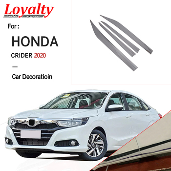 Loyalty For Honda Crider 2019 2020 Door Body Side Lip Cover Trim ABS Chrome Car Styling Auto Accessories