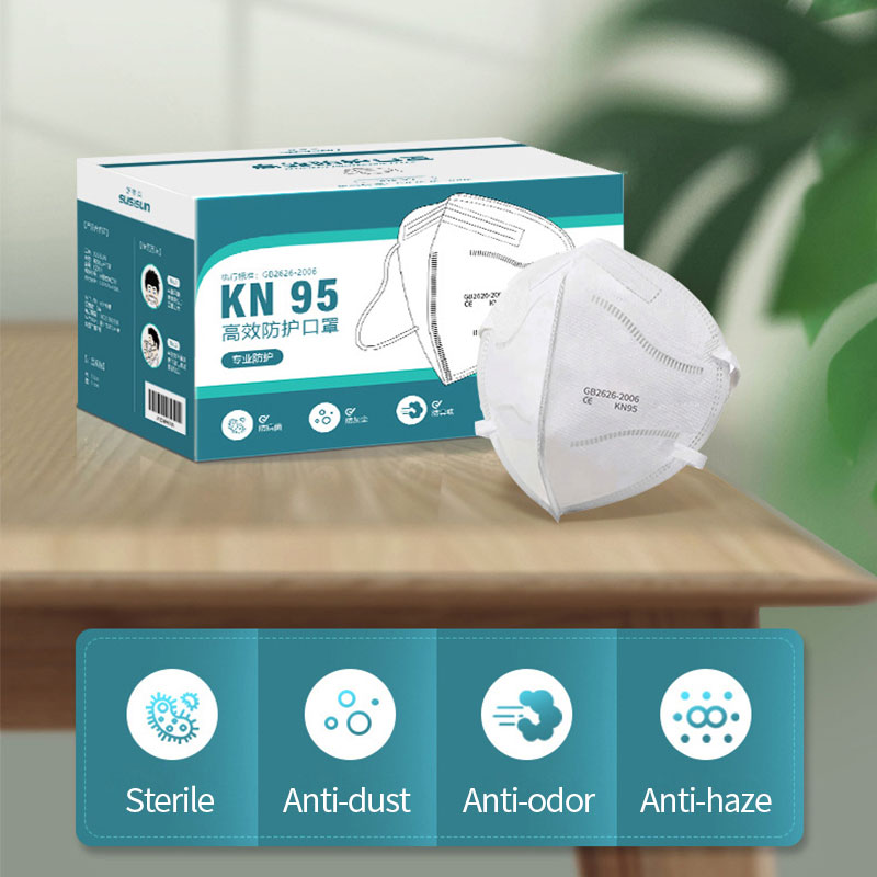 5Pcs Breathable FFP3 Mask Anti Dust KN95 KN95 Dustproof Anti-fog And Breathable - Valved Face N99 Respirator Reusable N95 Masks