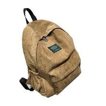 Рюкзак школьный женский Школьный рюкзак сумки вельветовый рюкзак подростковые рюкзаки для девочек Женский рюкзак 440