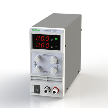 цена на KPS1203D Adjustable High precision double LED display switch DC Power Supply protection function 120V3A 110V/220V 0.1V/0.01A EU