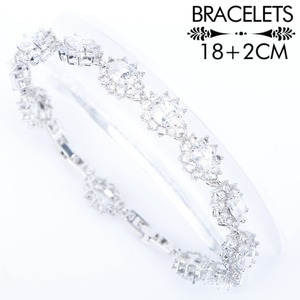 Image 2 - White Zirconia Silver 925 Costume Bridal Jewelry Sets Pendant Necklace Bracelets Earrings Rings For Women Set Jewellery Gift Box