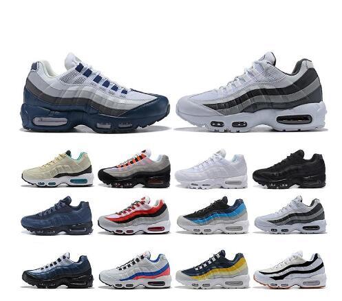 2020 Air Og Max 95 Men Running Shoes Neon TT Black Red Triple Athletic Shoes Mens Trainer Sport Sneakers Designer SE Size 40-45