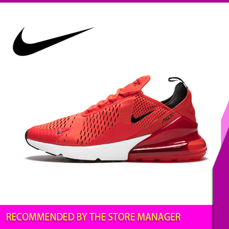 Nike Air Max 270 Men's Running Shoes Outdoor Sport Breathable Lace up Durable Jogging Sneakers Walking Designer Athletic AH8050 in Running Shoes from