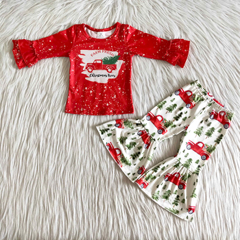 Red Christmas Outfit Set 1
