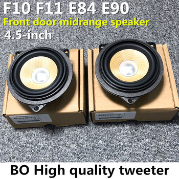 4.5 Inch Car Door Midrange Speaker For BMW F10 F11 E90 E91 E84 5 3 X1 Series Loudspeaker Audio Sound Music Stereo Accessories image