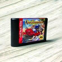 لوحة ألعاب الفيديو لوحدات التحكم Sega Genesis Megadrive ، العلامة الأمريكية ، Flashkit ، MD ، بطاقة PCB ذهبية مجلفنة لـ Sega Genesis