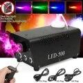 500W Nebel/Rauch Maschine w/Remote RGB LED DJ Werfer DJ Party familie ball freizeit parteien Licht rauch Werfer