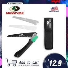 MOSSY OAK   Scie multifonction de poche 3 en 1 pliable pour jardinage, camping