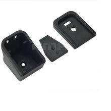 Magorui GLOCK Bottom Cover Magazine Extension for 17, 19, 22, 23, 24, 25, 26, 27, 28, 31, 32, 33, 34 BASE PAD INSERT j4